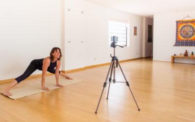 Yoga Online via Zoom mit Kristin Kunert